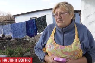 После смерти мужа прекратила прятаться в подвал - жительница села на Светлодарской дуге