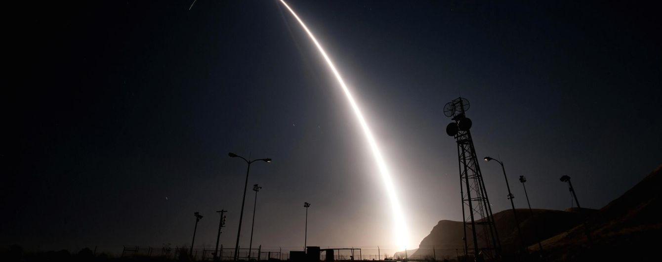 США здійснили випробування міжконтинентальної балістичної ракети