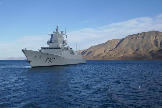 Біля узбережжя Норвегії військовий фрегат зіткнувся із нафтовим танкером та поступово тоне