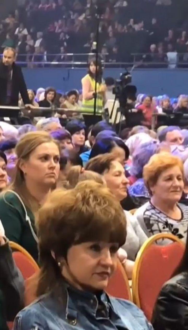 Винник зібрав аншлаг у Києві