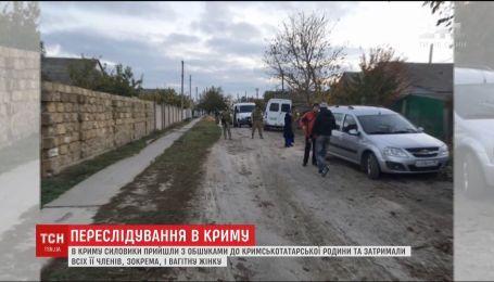 В Крыму оккупанты задержали крымскотатарскую семью