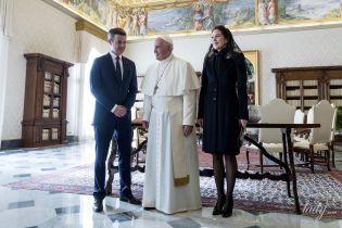 Сдержанно и элегантно: кронцпринцесса Мэри на встрече с Папой Римским