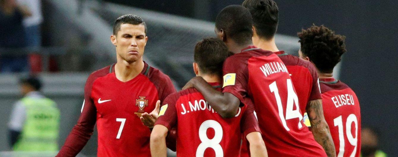 Збірна Португалії оголосила заявку на заключні матчі в 2018 році, Роналду знову немає