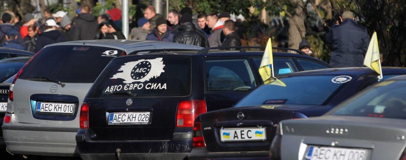 Рада не скасувала нові правила розмитнення євроблях – справа за Порошенком