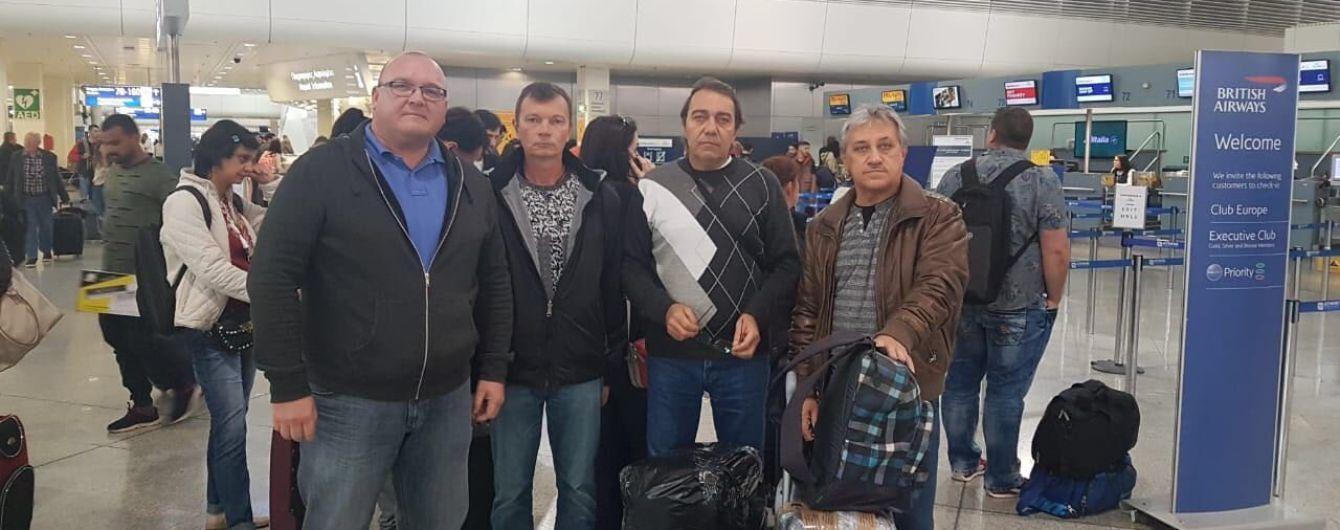 Трое украинских моряков вернулись на родину после более года ареста в Греции
