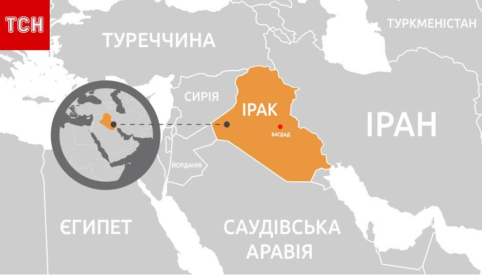мапа, Ірак, для блогів