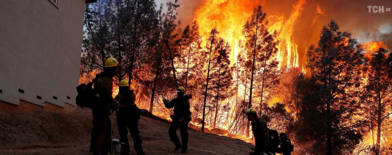 Трамп назвав винних у лісових пожежах в Каліфорнії