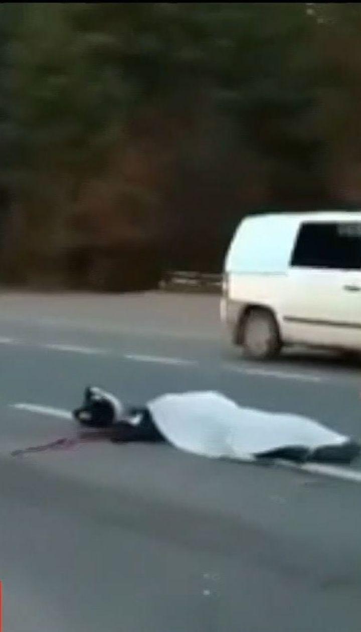 На Львівщині у ДТП загинули мотоцикліст та велосипедист