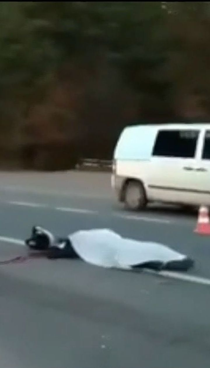 На Львовщине в ДТП погибли мотоциклист и велосипедист