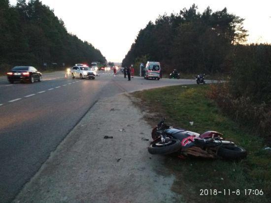 Поблизу Львова в аварії загинули мотоцикліст та велосипедист