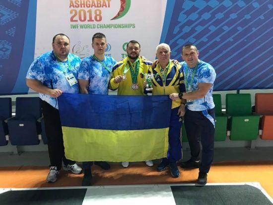 Український важкоатлет здобув три медалі на чемпіонаті світу