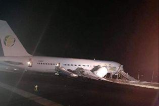 """У Гайані під час аварійної посадки лайнер """"викотився"""" за злітну смугу. Постраждали шість людей"""