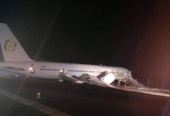 """В Гайані під час аварійної посадки лайнер """"викотився"""" за злітну смугу. Постраждали шість людей"""