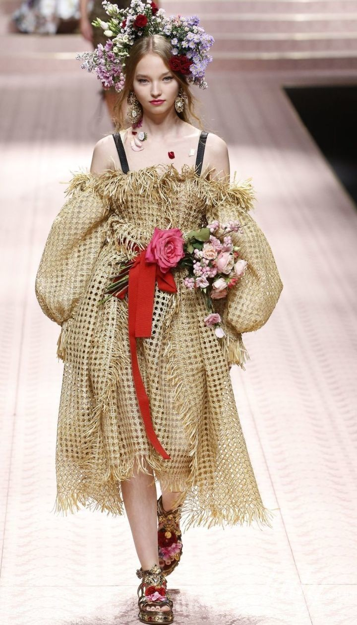 Колекція Dolce&Gabbana прет-а-порте сезону весна-літо 2019 @ East News