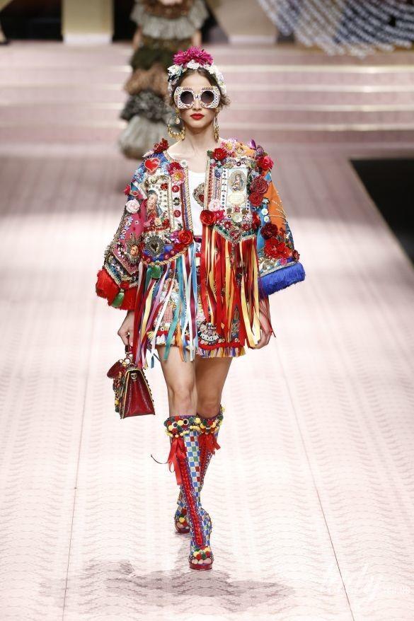 Коллекция Dolce&Gabbana прет-а-порте сезона весна-лето 2019_60