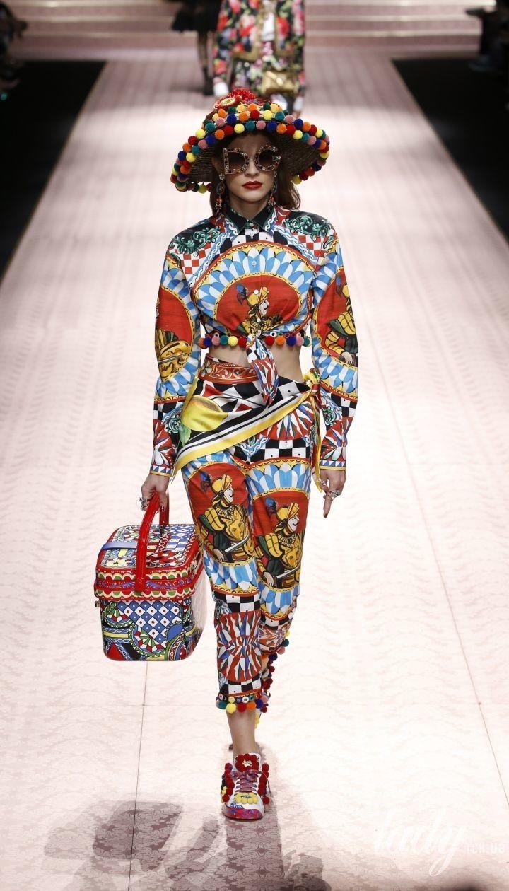 Колекція Dolce&Gabbana прет-а-порте сезону весна-літо 2019