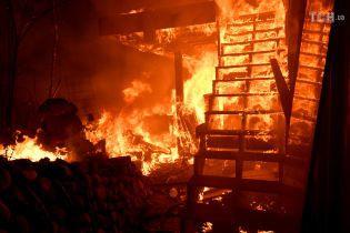 У Каліфорнії зросла кількість жертв лісових пожеж