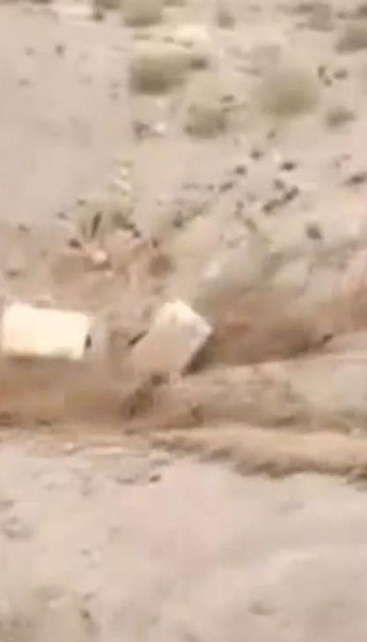 Популярне серед туристів місто Петра у Йорданії потерпає від повеней