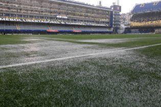 Сумасшедший ливень сорвал финал Кубка Либертадорес
