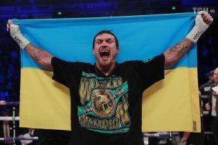 Усик приедет поддержать Ломаченко и Гвоздика в чемпионских поединках