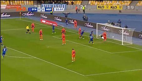 Динамо - Маріуполь - 1:0. Відео голу Шапаренка