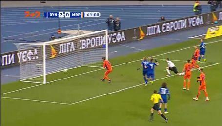 Динамо - Мариуполь - 3:0. Видео автогола Чоботенко