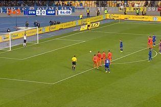 Динамо - Маріуполь - 4:0. Відео голу Циганкова з пенальті
