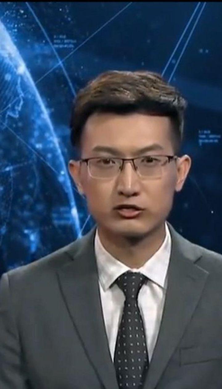 У Китаї тестують штучного ведучого новин та робота-листоношу