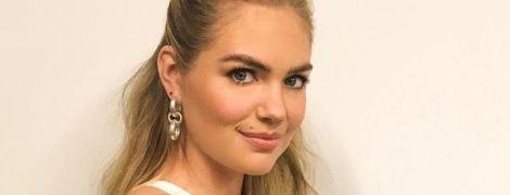 Хорошие новости: модель Кейт Аптон впервые стала мамой