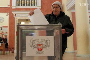"""""""Вибори"""" ватажка """"ДНР"""" можуть обернутися новими західними санкціями"""