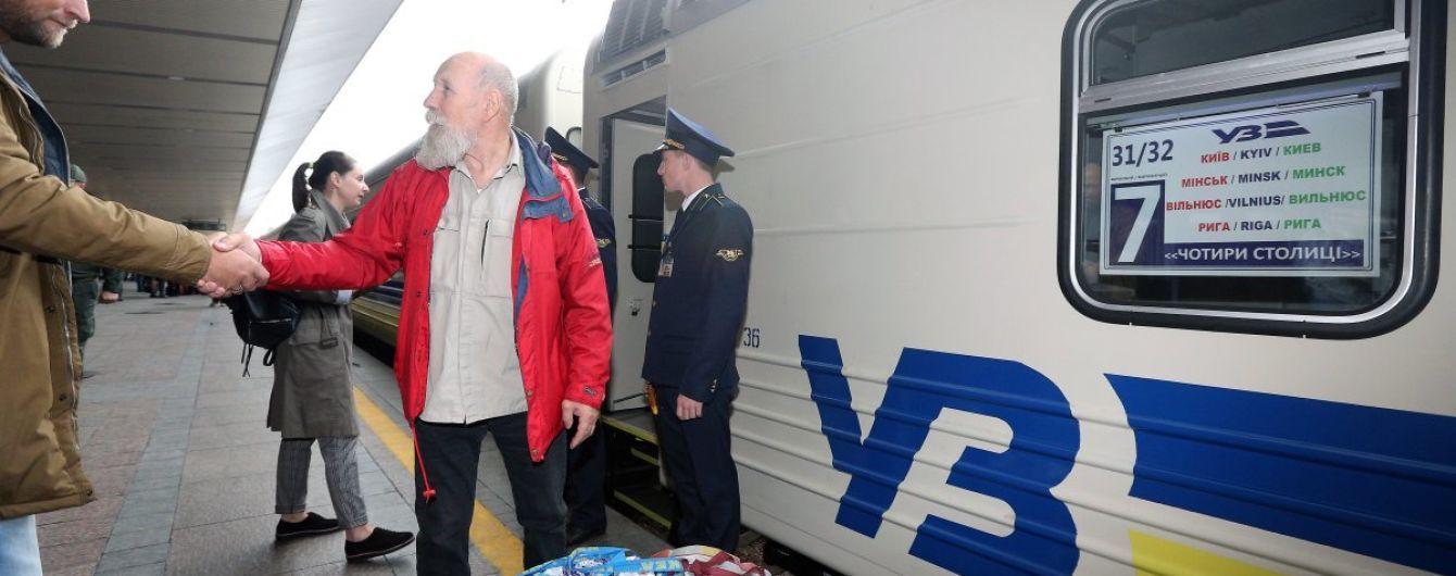 Железнодорожных билетов на новогодние праздники нет из-за экспресса до Борисполя