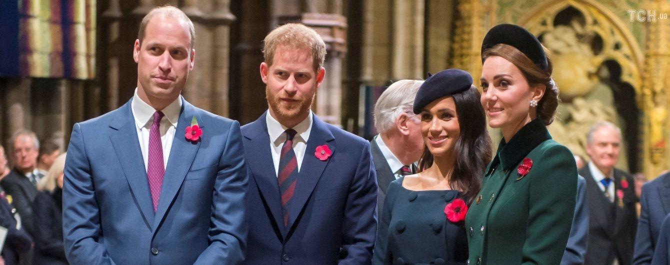 Принц Гаррі образився на принца Вільяма через його сумніви щодо весілля з Меган Маркл - ЗМІ