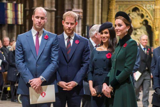 Елегантні Кейт та Меган разом з чоловіками відвідали низку офіційних заходів у Лондоні