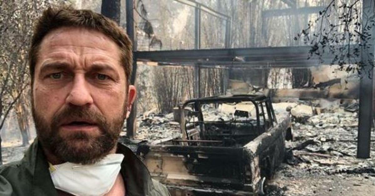Пожар в Калифорнии: Майли Сайрус и Джерард Батлер остались без домов