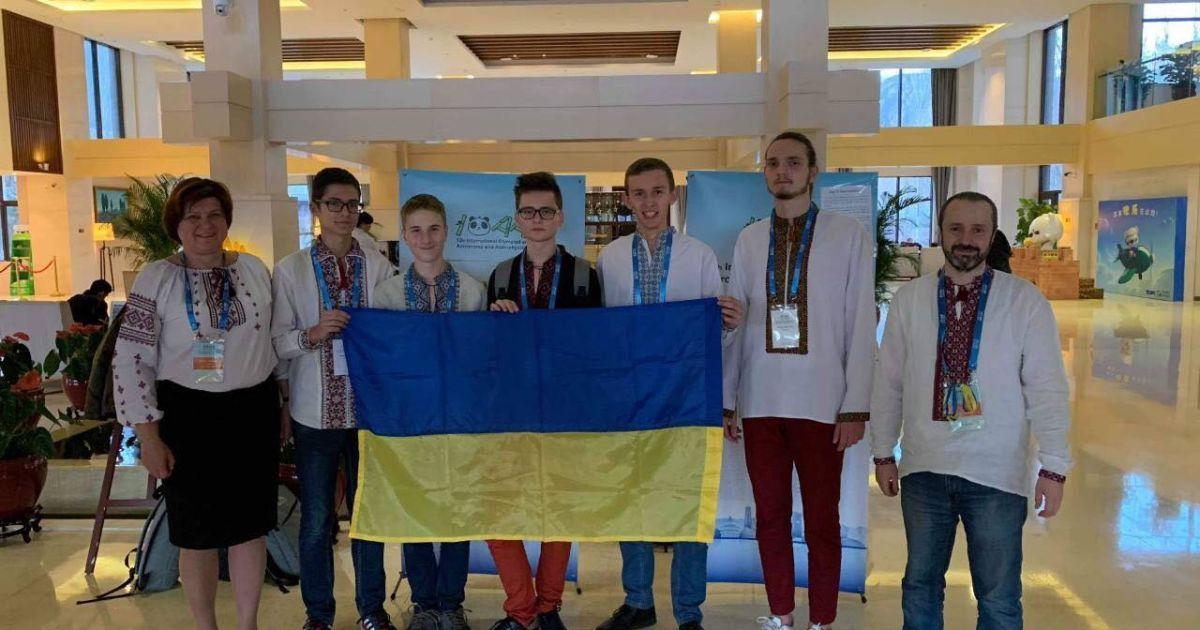 Украинцы завоевали четыре медали на Международной олимпиаде по астрономии
