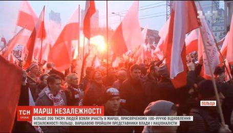 Более 200 тысяч жителей Польши приняли участие в параде к годовщине восстановления независимости