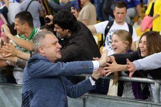Суркис поддержал Хацкевича: Он работает и будет продолжать работать
