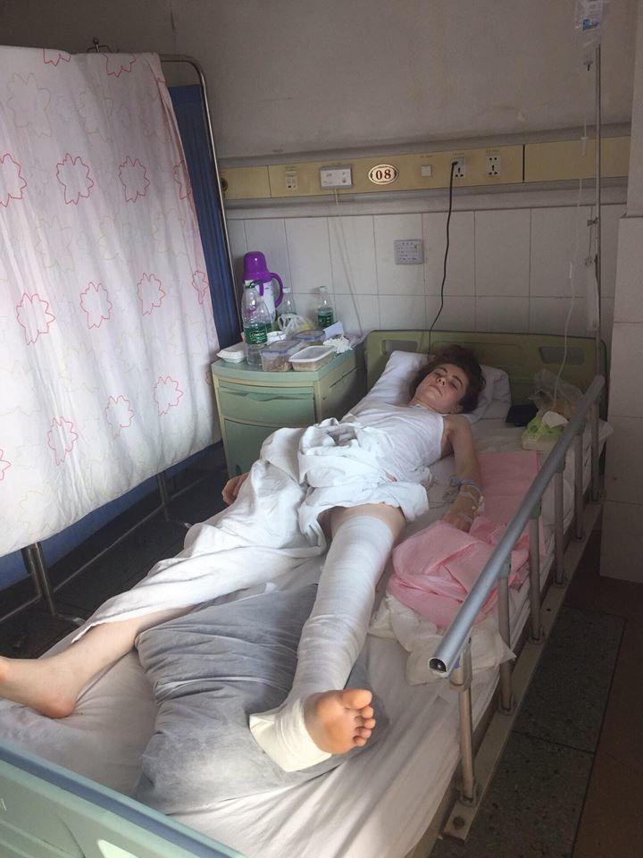 Українка в Китаї, Тетяна Трибель