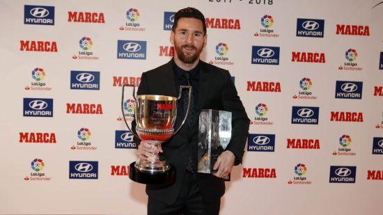 Мессі отримав нагороду найкращому гравцю Чемпіонату Іспанії