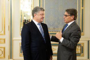 Зустріч Порошенка з міністром енергетики США: обговорили поставки американського зрідженого газу