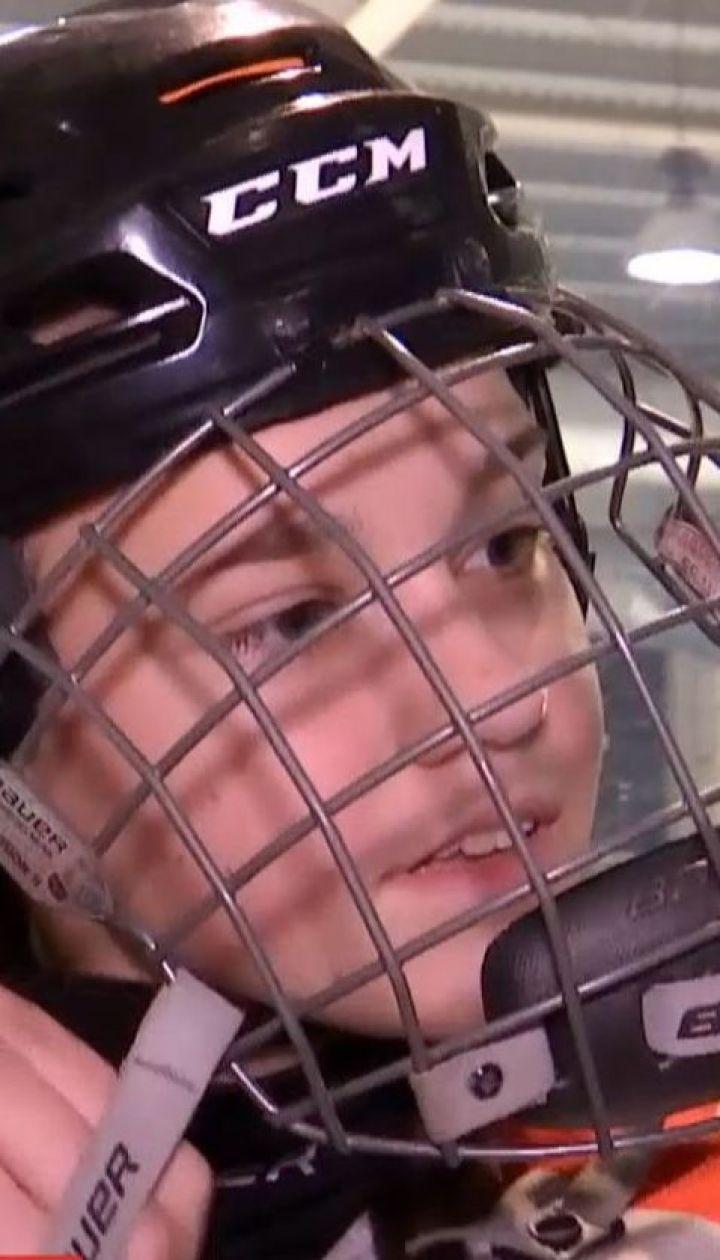 13-річна хокеїстка уперше в історії України виборола право грати в чоловічому чемпіонаті