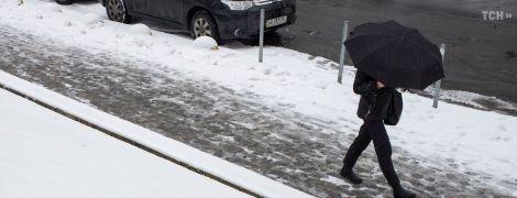 Синоптики обіцяють Києву сніговий покрив, а у східних областях уже морозно