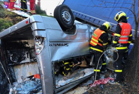 У реанімації померла п'ята жертва аварії з українцями в Чехії – ЗМІ