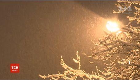 Гідрометцентр заявив про ймовірність першого снігу цього тижня