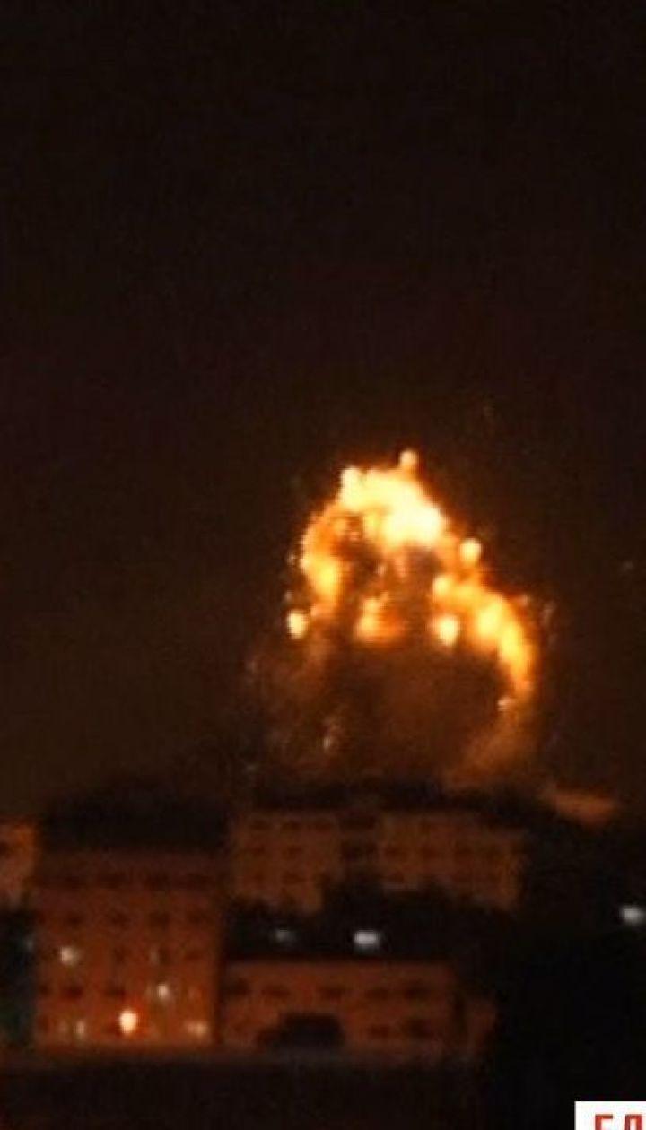 Боевики из Сектора Газа осуществили самый масштабный за 4 года обстрел