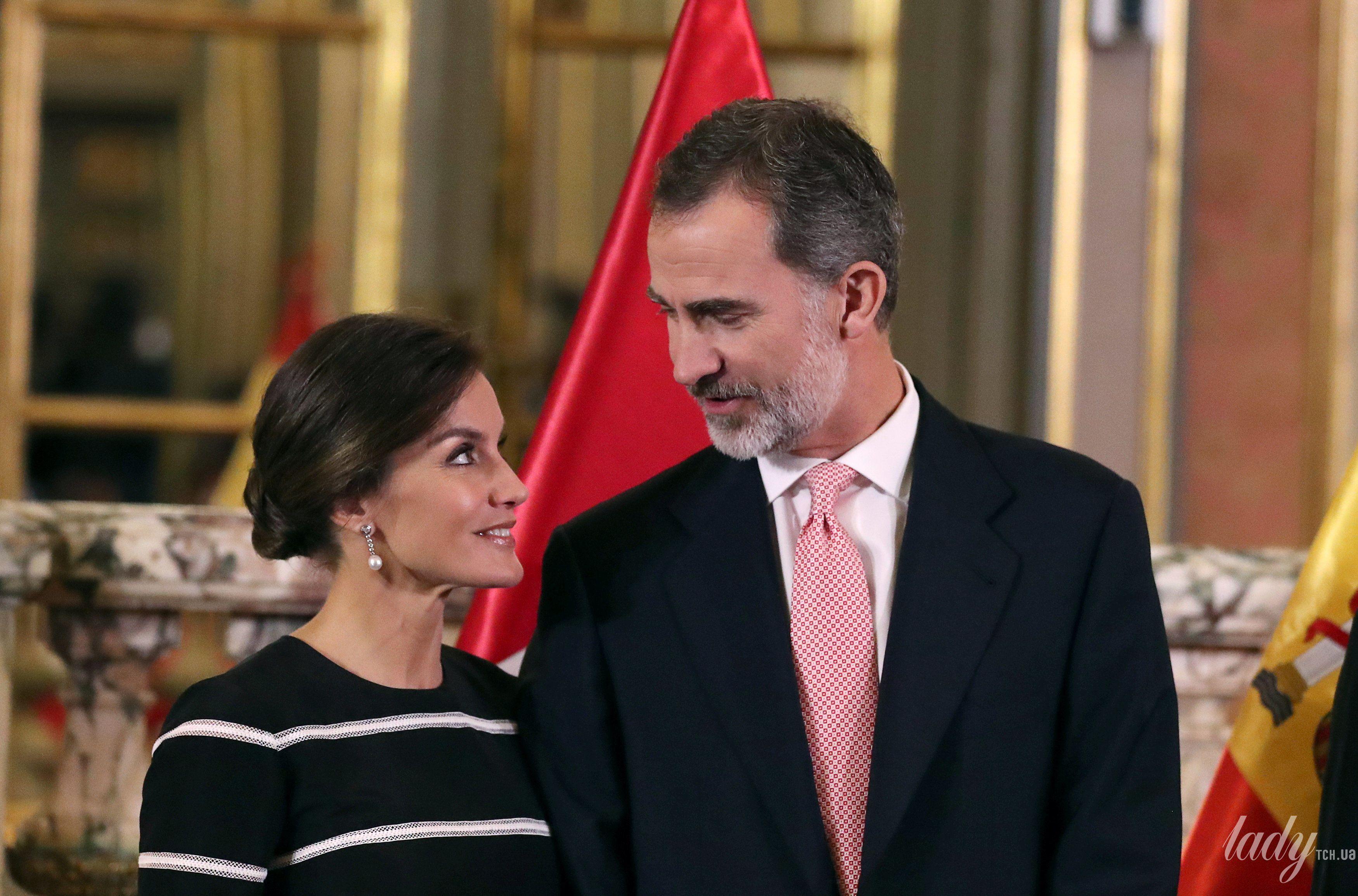 Королева Летиция и король Филипп VI_5