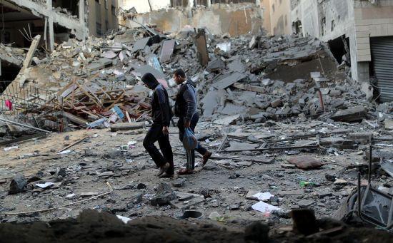 Відповідь Ізраїля на обстріли. З'явилися фото руйнувань у Секторі Гази