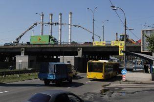 В Киеве впервые за 40 лет отремонтировали важную развязку