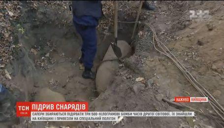 Сапери знищують снаряди часів Другої світової війни поблизу Білої Церкви