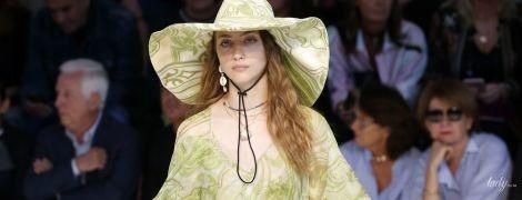 Эффектные принты и красивые шляпы в коллекции Etro сезона весна-лето 2019